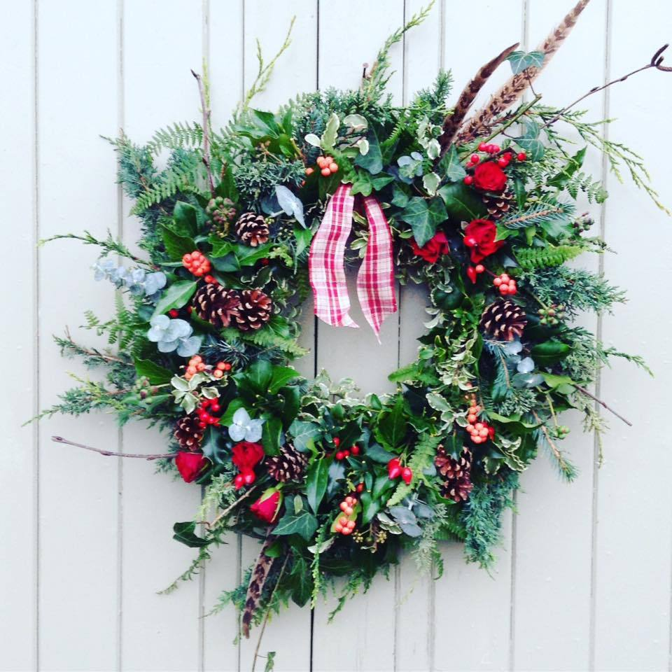 The Little Brick House | Decorative Home Accessories and Gifts | Christmas Wreath WORKSHOP 2019