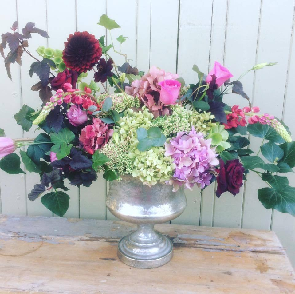 The Little Brick House   Decorative Home Accessories and Gifts   'Summer Urn' Flower Workshop 2019