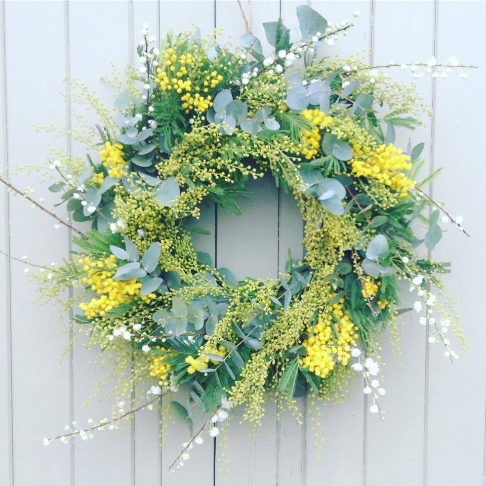 The Little Brick House | Decorative Home Accessories and Gifts | Spring Wreath WORKSHOP 2019