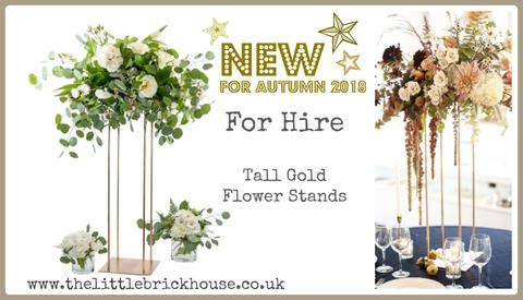 The Little Brick House | Decorative Home Accessories and Gifts | Tall Flower Stand