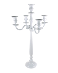 The Little Brick House | Decorative Home Accessories and Gifts | Medium White Candelabra