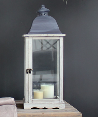 The Little Brick House | Decorative Home Accessories and Gifts | Medium Wooden Lantern