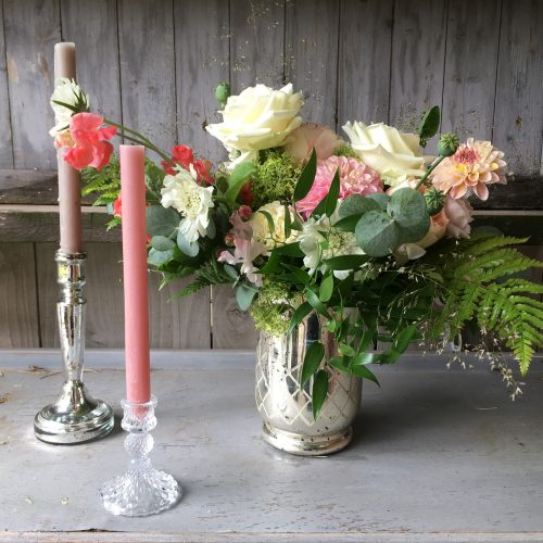 The Little Brick House | Decorative Home Accessories and Gifts | Arrangement in Silver Vase