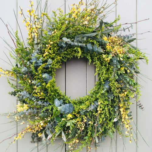 The Little Brick House | Decorative Home Accessories and Gifts | Yellow Door Wreath