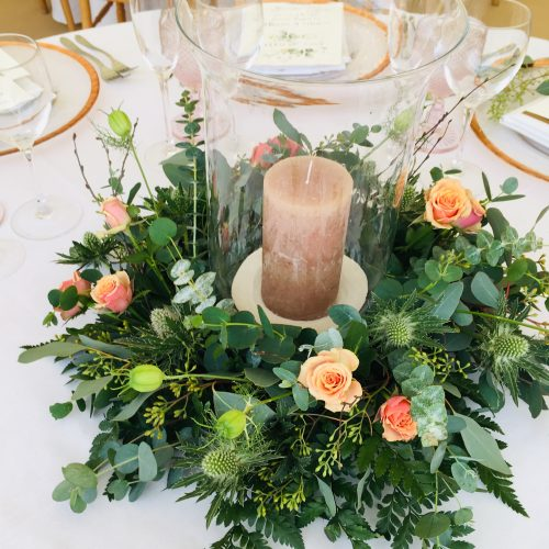 Centrepiece with Candle