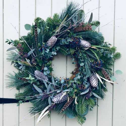 The Little Brick House | Decorative Home Accessories and Flowers | Pine Wreath