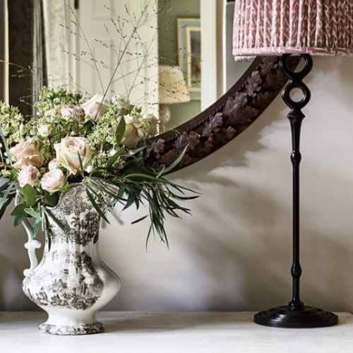 The Little Brick House | Decorative Home Accessories and Flowers | Mirror, lamp and jug