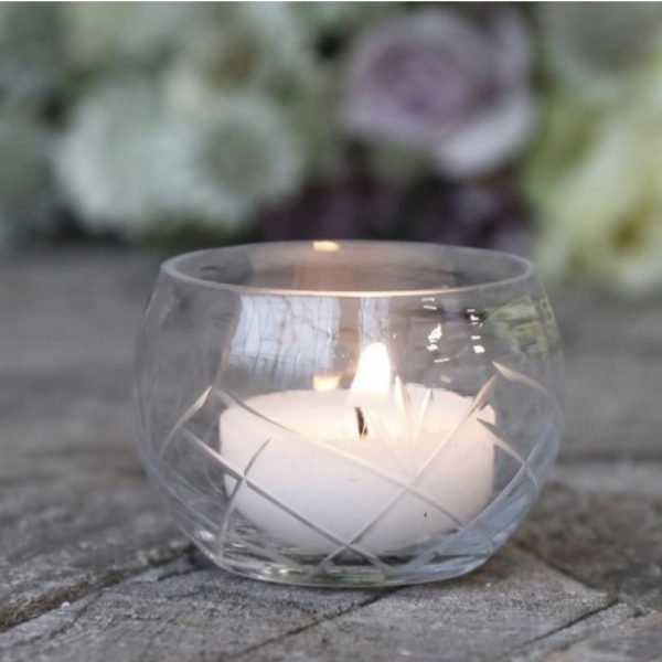 The Little Brick House | Decorative Home Accessories and Flowers | Glass tealight holder