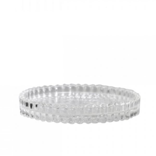 Glass Candle Tray