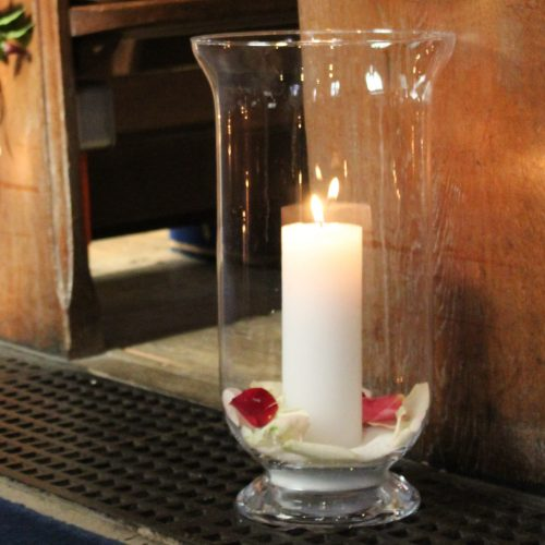 The Little Brick House | Decorative Home Accessories and Flowers | Candle in Church