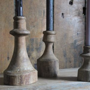 Wooden Rustic Candleholders