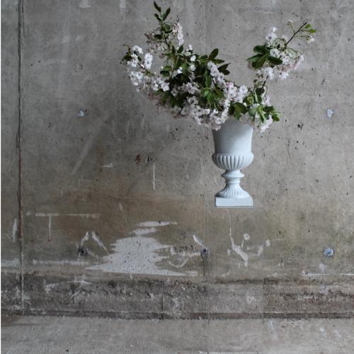 Blossom Urn on Plinth Wedding