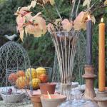 Terracotta Pots & Candles