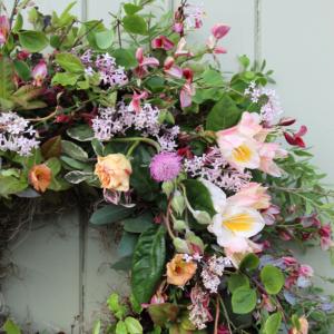 Roses & Blossom Wreath