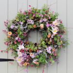 Summer Fresh Flower Wreath