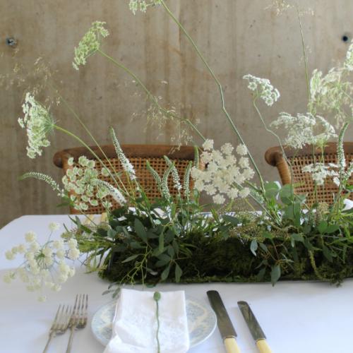 Meadow Runner Wedding Flowers