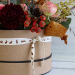 Autumn Hat Box Flower Workshop
