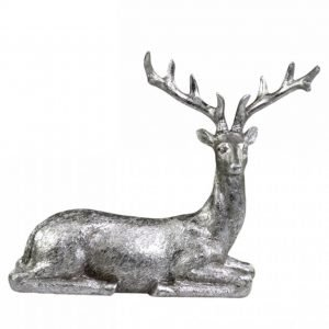 Festive Deer Laying