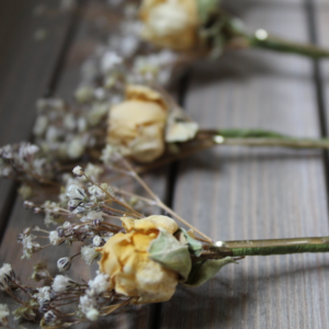 Dried Flower Hair Pins