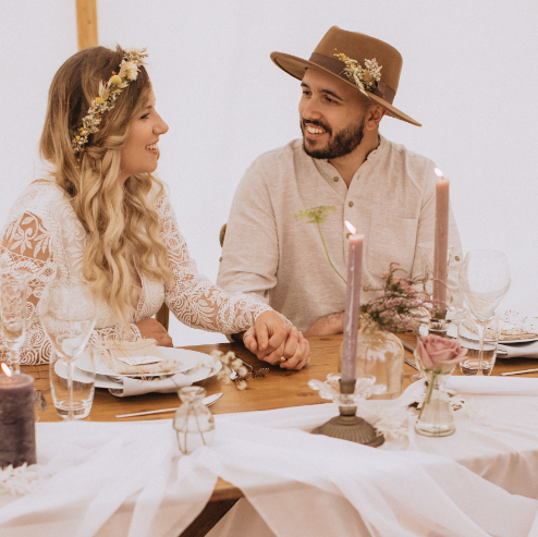 Top Table Styling Wedding