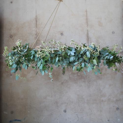 Suspended Flowers Wedding