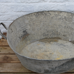 Galvanised Wash Tub