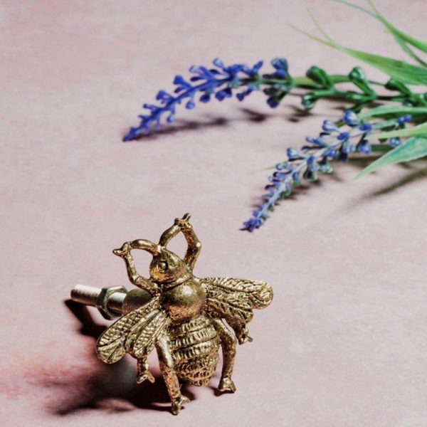 Golden Bee Drawer Pull
