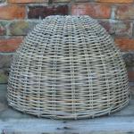 Large Cone Shaped Rattan Pendant Shade