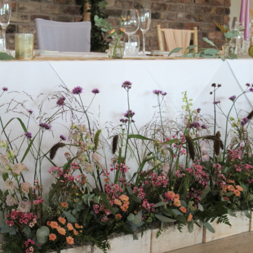 Meadow Boxes Wedding