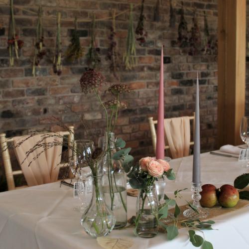 Dried Flower Bunting Wedding