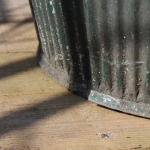 Galvanised Green Dolly Tub