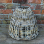 Cone Shaped Rattan Pendant Shade
