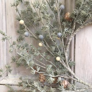 Winter wonderland faux wreath