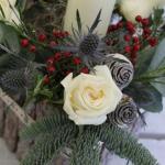 Christmas Table Arrangement