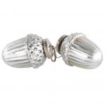 Silver Acorn Decoration