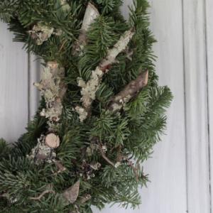 Rustic Spruce Fresh Wreath