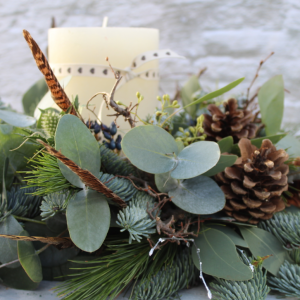 Christmas Table Wreath 'Rustic'