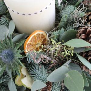 Christmas Table Wreath 'Traditional'