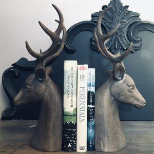 Deer Book Ends