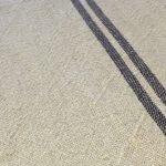 French Stripe Linen Runner