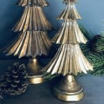 Antique Gold Christmas Tree