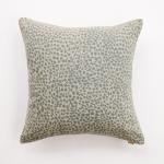 Animal Print Cushion Cheetah Blue