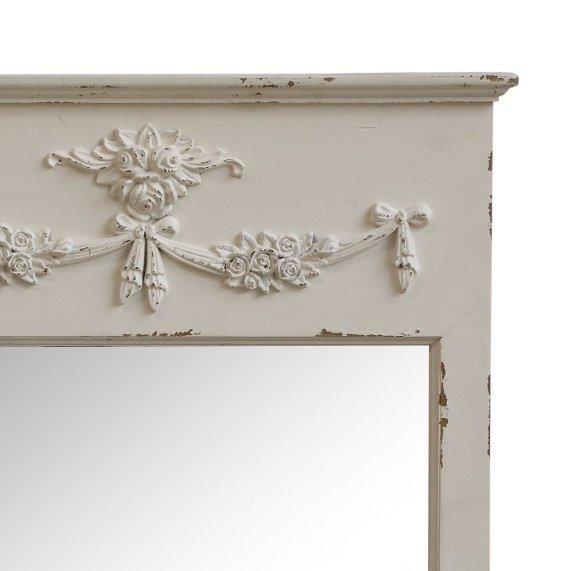 French White Mirror