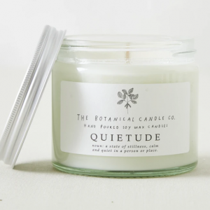 Glass Jar Candle - Quietude