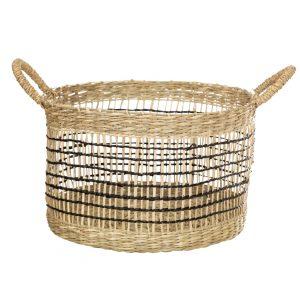 Seagrass Open Weave Basket