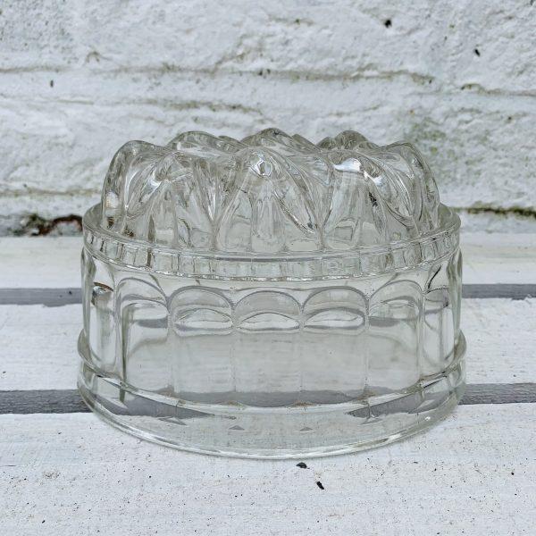 Vintage Glass Jelly Moulds
