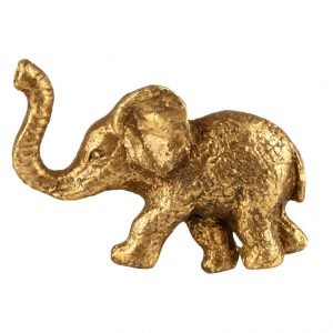 Golden Elephant Drawer Knob