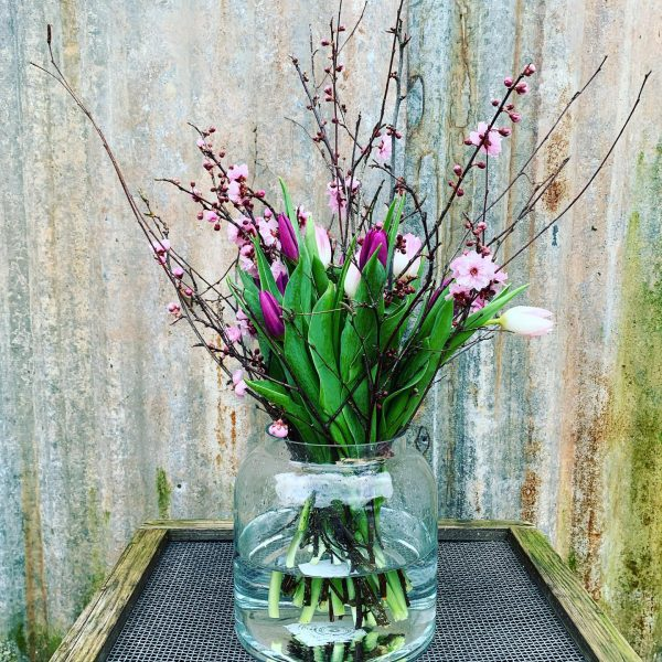Apothecary Flower Jar