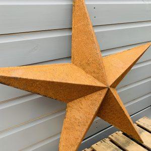Rusty Metal Barn Star