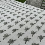 Bee Tablecloth Olive Green